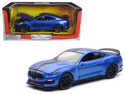 Blue Mustang Black Stripes Diecast Model Cars Wholesale Toys Dropshipper Drop Shipping 2016
