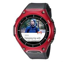 casio wsd f10 rugged android wear smartwatch gets 149 discount