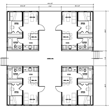 Shipping Containers Floor Plans by Container House Container Apartments Shipping Home Design