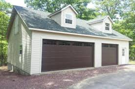 3 car garage with loft amish road crew garage builders we build garages for home owners