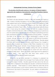 Scholarly Essay Examples Literature Review Format Engineering
