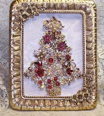 Decorated Christmas Trees Ebay by 244 Best Jeweled Christmas Trees Images On Pinterest Jewelry