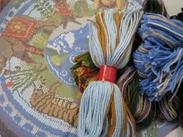 Kaffe Fassett Tapestry Cushion Kits Kaffe Fassett Jennyhenrydesigns