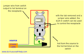 wiring diagram light switch outlet carlplant