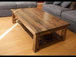 rustic solid wood coffee table crafters and weavers fulton rustic solid wood coffee table for idea