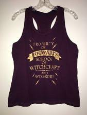 hogwarts alumni tank harry potter t shirt sleeveless t shirts for women ebay