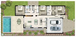 plan of house illustrated house plan shazzamstudios