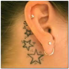 tattoo behind ear 2014 tattoos