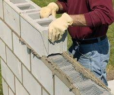 use expert u0027s guide to learn how to build a cinder block wall