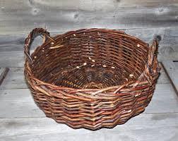 twig baskets etsy