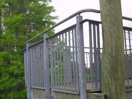 Steel Banister Rails Steel Railing Systems Ametco Manufacturing
