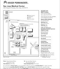 kaiser san jose facility map kaiser permanente cus map pictures to pin on thepinsta