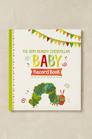 baby record book the hungry caterpillar baby record book anthropologie