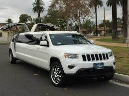 pink jeep grand cherokee white 140 inch jeep grand cherokee limousine for sale 1422