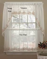 Designs For Kitchen Curtains Kitchen Beautiful Kitchen Curtains Inside Fresh Idea To Design