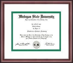 michigan state diploma frame michigan state diploma frame talking walls