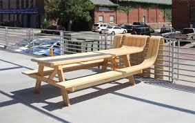 amazing of extra long picnic table exterior long diy solid wood