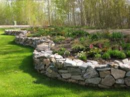 Rock Garden Beds Raised Rock Garden Northern Exposure Gardening Gardening