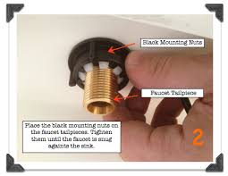 how to tighten kitchen sink faucet vanities for small bathrooms faucet sink installation in less