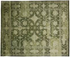 Hand Knotted Rugs India Oushak Hand Knotted Wool Area Rug From India 12 U0027 X 14 U0027 8
