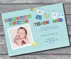 19 baby thank you cards free printable psd eps indesign