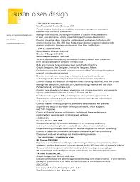 Creative Cover Letter Examples by Sample Of Creative Graphic Design Resume Resume Cover Letter Example