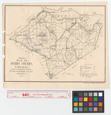 County Map Of Washington by Preliminary Map Of Surry County Virginia From Surveys By