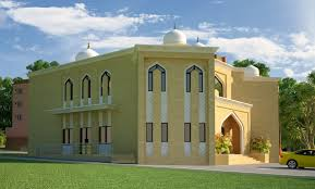 Front Elevation Design by 3d Front Elevation Com Dimentia Muslim Mosque 3d Front Elevation