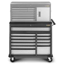 Rolling Tool Cabinets Gladiator Gatr4112wg Premier Series 41 In W 12 Drawer Rolling