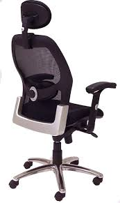 desk chair with headrest mesh back ergonomic seating in stock free shipping