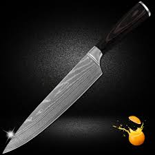 online get cheap 8 inch kitchen knife 7cr17 aliexpress com top selling chef knife 8 inch new kitchen knives 7cr17 stainless steel sharp blade flowing sand