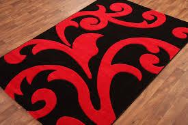 Large Black Area Rug Large Black Flower Rug Big Area Rugs Mats Carpets Black