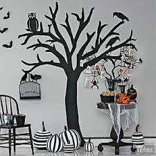 Halloween Witch Decorations For Trees by Eerie Outdoor Halloween Decorations