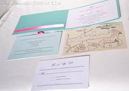 Map Wedding Invitations Diy Wedding Revisited Invitations The Domestic Domicile