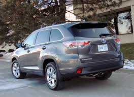 hefty toyota highlander hybrid surprisingly easy on fuel wheels ca