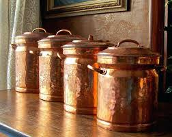 copper canisters kitchen rustic kitchen canister set rustic kitchen canisters