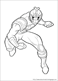 coloring pages of power rangers spd power ranger coloring page mirotvorec