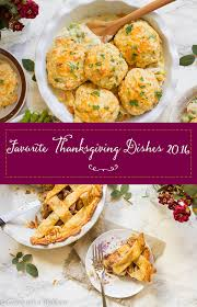 favorite thanksgiving dishes 2016 cooking with a wallflower