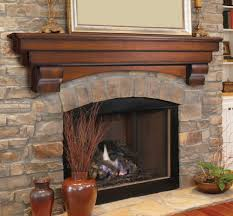oak fireplace mantel shelf u2014 best home decor ideas fireplace