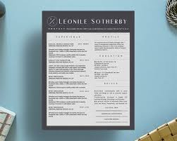 Original Resume Design The 13 Best Images About Leonile Sotherby Resume Template On