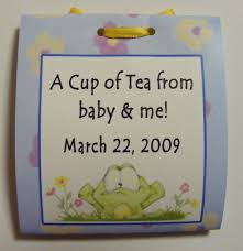 tea bag party favors 12 baby shower turtle tea bag party favors