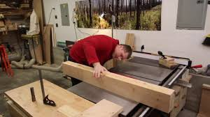 roubo style woodworking bench part 1 youtube