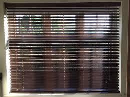 wooden slatted window blinds x 2 in bracknell berkshire gumtree