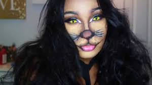 halloween cat eyes background cat lion halloween tutorial youtube