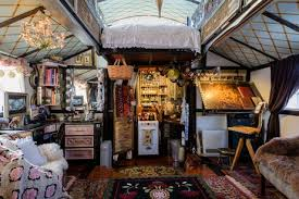 house tour an incredible expanding tiny house apartment therapy