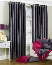 Plum Velvet Curtains Duchess Plum Purple Velvet Lined Ring Eyelet Curtains Pattern