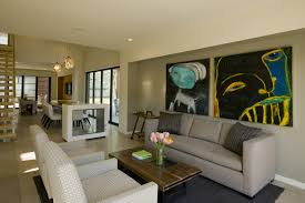 Single Living Room Chairs by Wonderful Contemporary Living Room With Brick Fireplace Paint