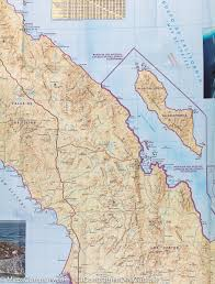 Baja Mexico Map by Map Of Northern Baja California Mexico National Geographic