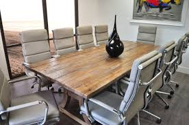 11 piece dining room set solispatio 11 piece ligna 8 u0027 rectangular conference table set