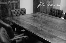 Wooden Boardroom Table Reclaimed Wood Boardroom Table 5 Blog